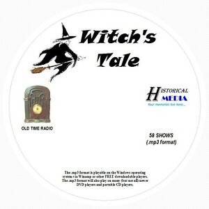 witch s tale 58 shows old time radio in mp3 format otr 1 cd ebay