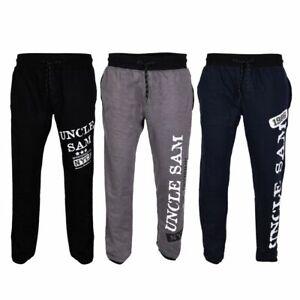 UNCLE-SAM-Herren-Jogginghose-Bodypants-Trainingshose-Sporthose-breitem-Bund