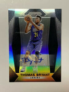 Thomas-Bryant-2017-Panini-Prizm-Silver-Auto-Basketball-Card-Wizards-281-NM-MT