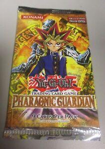 Yu-gi-oh-Pharaonic-Guardian-Booster-Pack-Sealed-Rare-English-1996-Konami