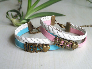 Image Is Loading S Bracelets Set Hers An