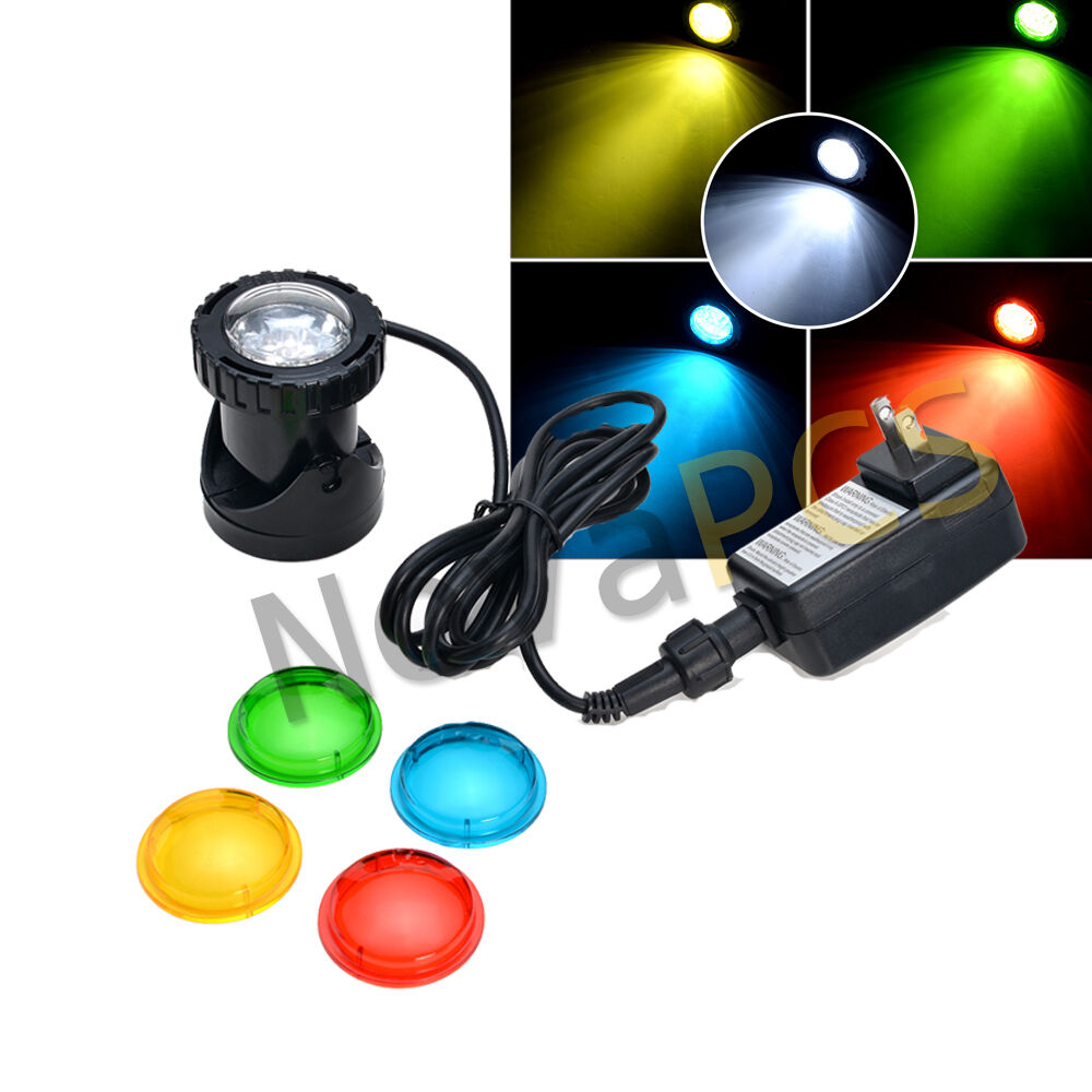 3 led 25w 200ma ponds light set for underwater fountain for Garden pond lights