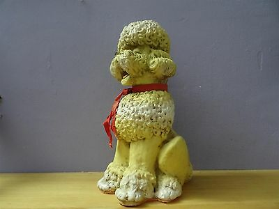 Combex creations 1950s mid century Combex rubber Poodle Dog made in England squeaky toy