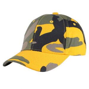Herren Damen Camouflage Basecap Trucker Baseball Mütze Snapback Kappe Hut Cap