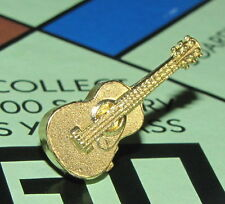 Monopoly Limited Edition Board Game Part GUITAR Golden Token Gold Target Retired