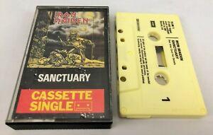 Iron Maiden ~ Sanctuary ~ EMI, TC-IM 1, Cassette, Single, UK, 1980