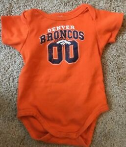 new arrivals 54582 2834d Details about NFL Apparel Denver Broncos Baby One Piece Size 12 Months