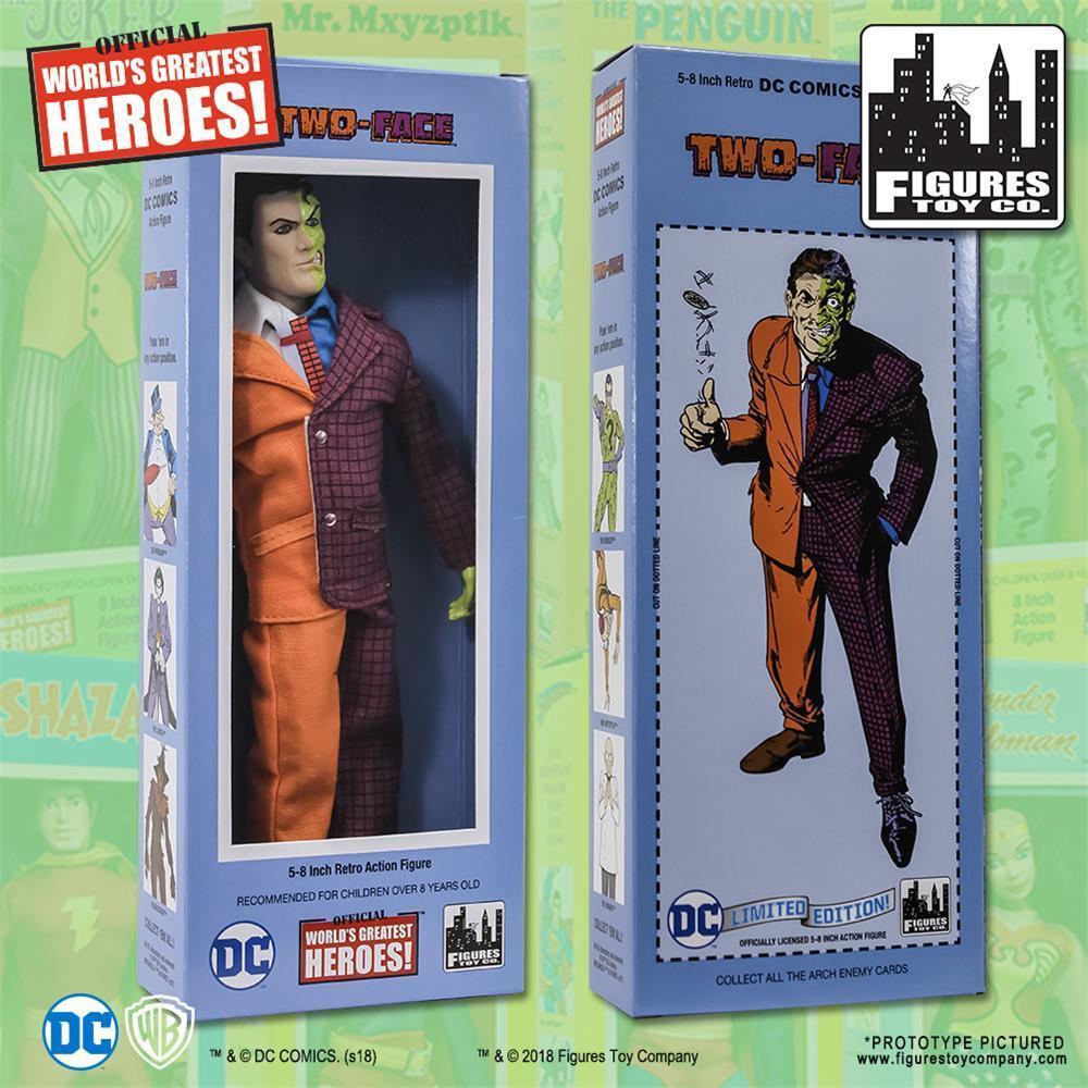 DC Comics Rétro Double Face 8 in (environ 20.32 cm)  figurine avec Classique Rétro Style Box  le magasin