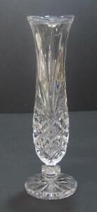 Vtg-Noritake-CRYSTAL-BUD-VASE-Hampton-Hall-West-Germany-Full-Lead-Clear-glass