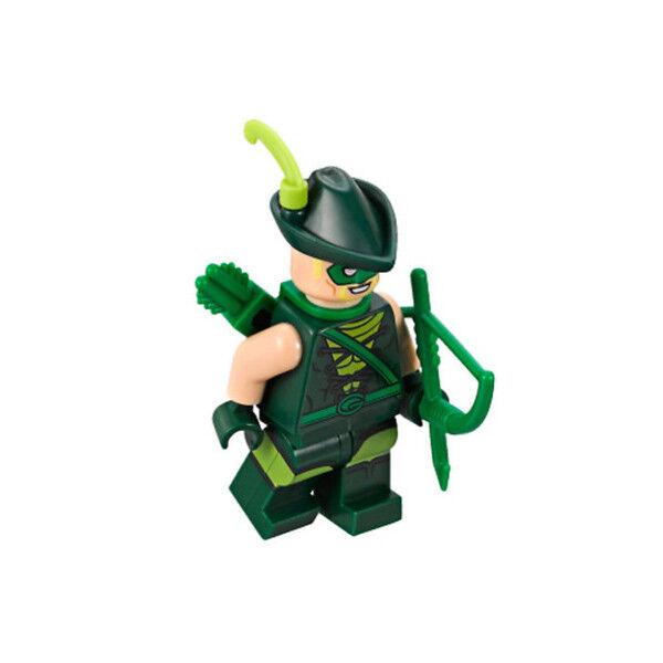 100/% LEGO Green Arrow Minifigure 70919 The Batman Movie Justice League Party