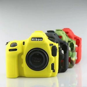Details about Silicone Rubber Skin case Camera Cover Protector Bag For  Nikon D850