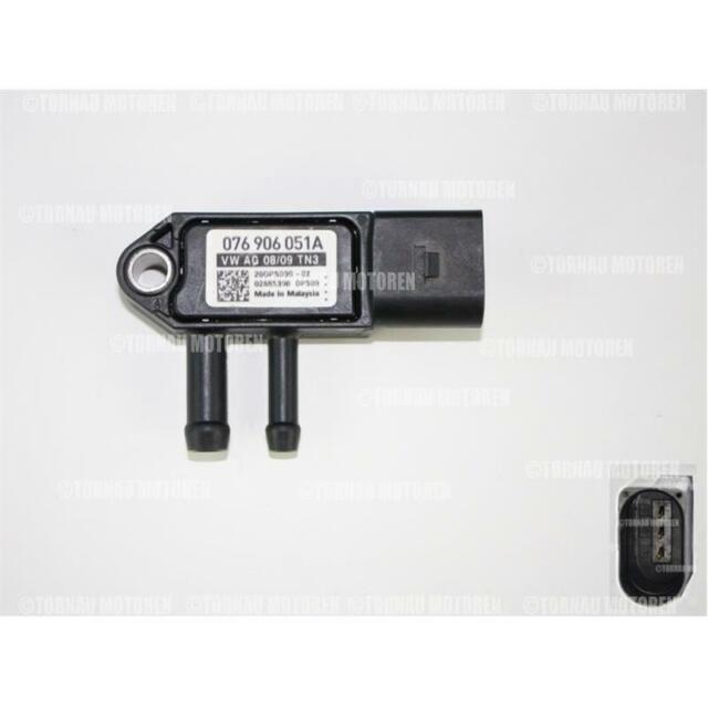 Abgasdruck Abgasdrucksensor Differenzdruckgeber Sensor für AUDI SEAT VW SKODA DE