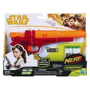 NERF-STAR-WARS-QI-039-RA-GLOWSTRIKE-BLASTER-WITH-SOUNDS-amp-DARTS