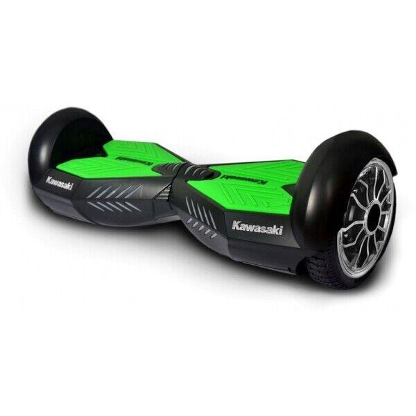 Kawasaki Electric Balance Hoverboard 10 Zoll schwarz bis 120kg bis 20 km h IP54  | ein guter Ruf in der Welt