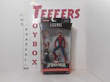 Marvel Legends ** Peter Parker Spiderman ** Space Venom BAF, New in box