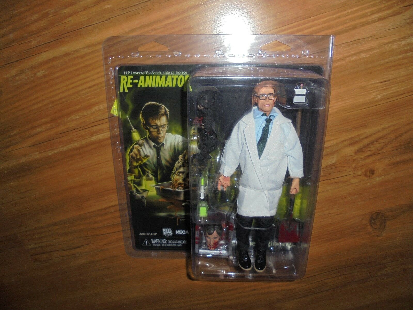 Re - animator  herbert west  action - figur neca 2018