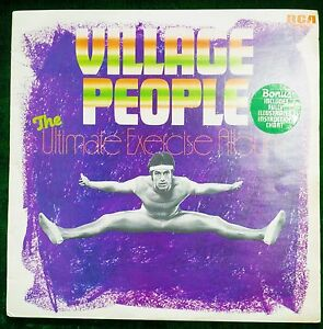 VILLAGE-PEOPLE-RENAISSANCE-VINYL-LP-ULTIMATE-EXERCISE-ALBUM-SCARCE-RARE-COVER