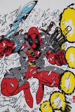 DEADPOOL vtg UNWORN 1993 x men new mutants force 90s marvel comic t-shirt nos XL