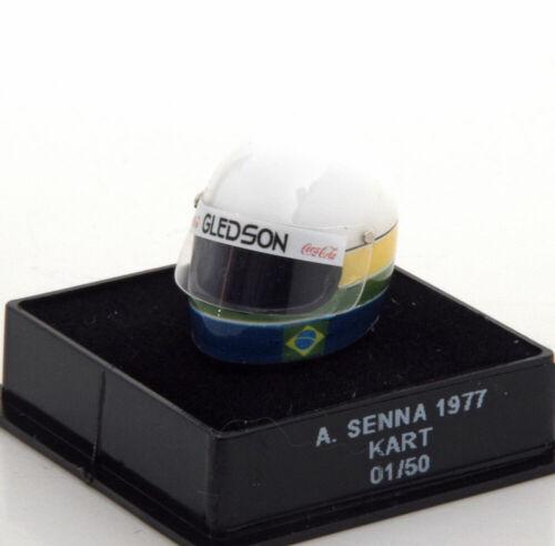 1:12 jf Creations Kart Helmet senna 1977