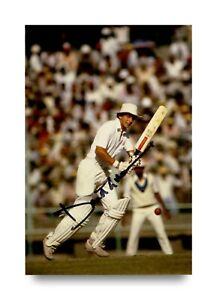 David-Gower-Signed-6x4-Photo-England-Cricket-Genuine-Autograph-Memorabilia-COA