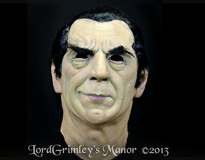 NEW 2013 Officially Licensed Bela Lugosi Dracula Halloween Mask Horror Vampire