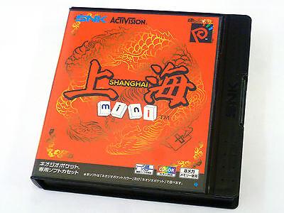 Japanese Neo Geo Pocket Color Colour SHANGHAI MINI JP JAP Mahjong Game Boxed