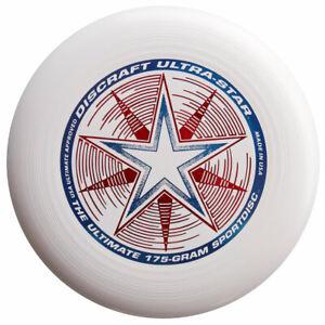 NG - Discraft Ultimate Frisbee Ultrastar 175g WEISS Wettkampf/Freizeit Scheibe
