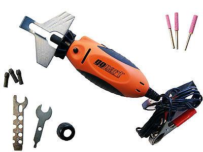 """12v Electric Handheld Chain Saw Sharpener / Grinder 5/32"""", 3/16"""" & 7/32"""""""