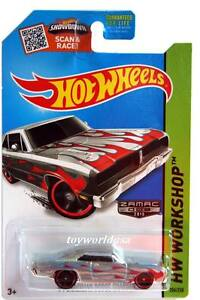 2015 Hot Wheels Workshop /'74 Brazilian Dodge Charger Zamac 206