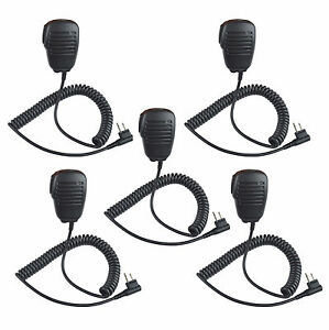 5x Remote Speaker Microphone for motorola CP040 CP140 CP150 CP110 Two Way Radio