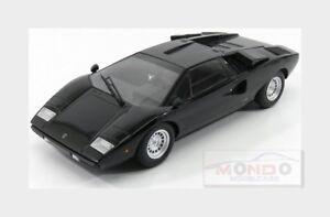 Lamborghini Countach Lp400 1974 Noir Kyosho 1:18 Ky09531bk