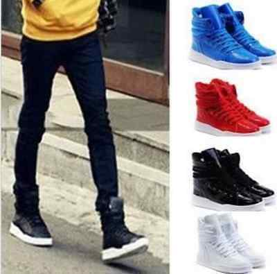 New 2017 Fashion Men's Casual High Top Sport Sneakers Athletic Running Shoes//**