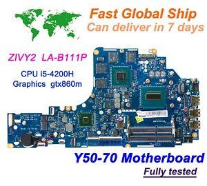 New-Lenovo-Y50-70-ZIVY2-LA-B111P-w-Intel-i5-4200H-2-8GHz-CPU-GTX860m-Motherboard