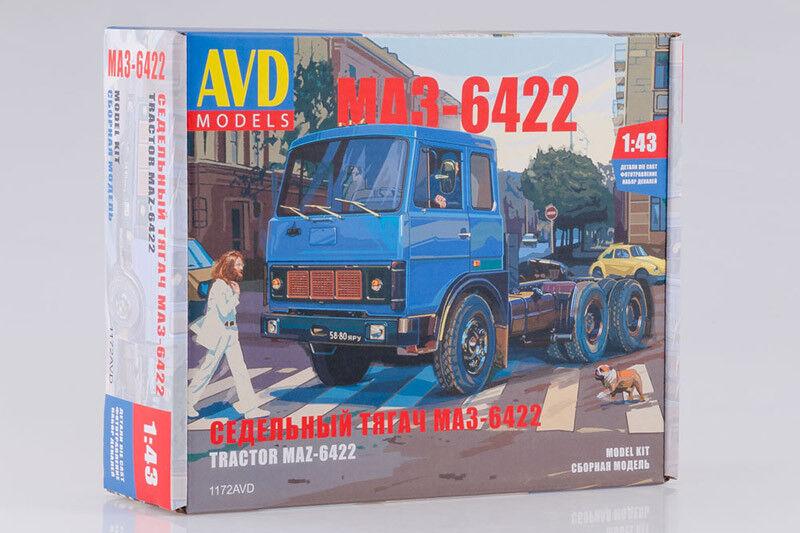AVD modellllerlerler 1172AVD 1  43 MAZ -6422 Vitryssland traktorenhet