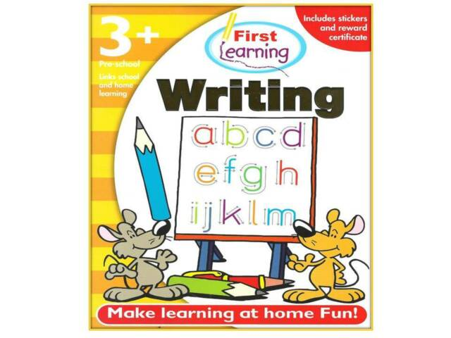 Homework Helper First Learning Writing 3+ Early Learning Years Pre-School New