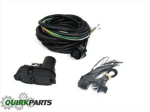 1418 Dodge Durango TRAILER TOW WIRING HARNESS W 7 WAY CONNECTOR