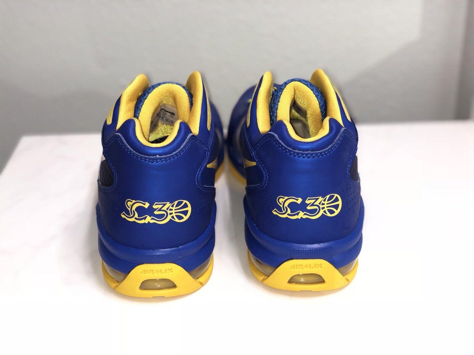 Nike Air Max Flight 11 Steph Curry PE sz sz sz 9 Rare Limited Warriors golden State 106183