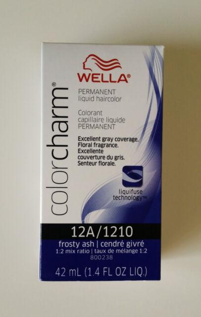 Wella Color Charm 12A/1210 Frosty Ash Permanent Liquid Hair Colour