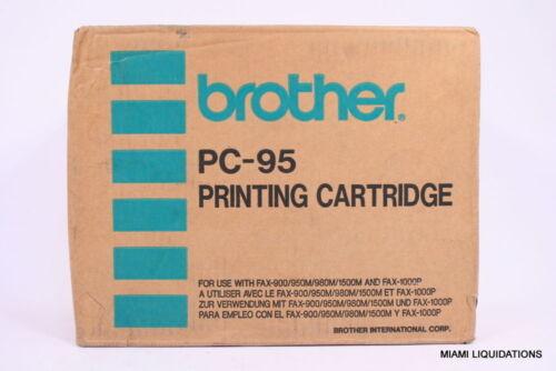 New Genuine 5PK Brother PC-91 PC91 PC 95 Fax Intelifax Cartridge Refills