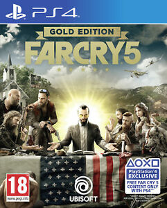 Far Cry 5 Gold Edition PS4 Game
