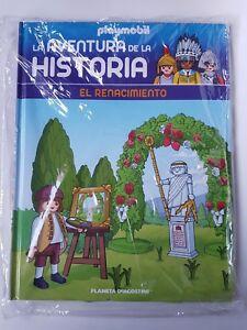 Playmobil-Coleccion-Libros-La-Aventura-de-Historia-N-27-El-Renacimiento-Libro