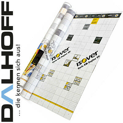 Dampfbremse Vario Km Duplex Uv Isover Klimamembran 60 M² Folie 1,98€/m²