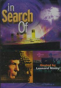 LEONARD-NIMOY-In-Search-Of-Season-Six-NEW-BUT-UNSEALED-3-DVD-Set-Region-1