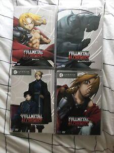 Fullmetal alchemist funimation DVD set Volumes 1-4 | eBay