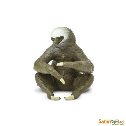 Deux Toed Sloth 6 Cm Série Animaux Sauvages Safari Ltd 100117 Nouveauté 2017