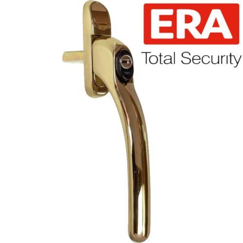 PREMIUM ERA UPVC KEY LOCKING WINDOW HANDLE Inline Double Glazing Espag PVCu Lock
