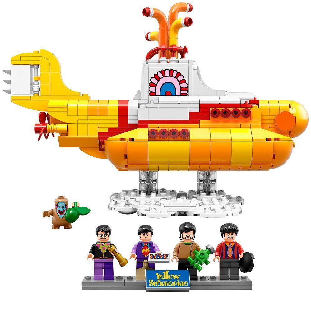 LEGO Ideas 21306 giallo Submarine Building Kit