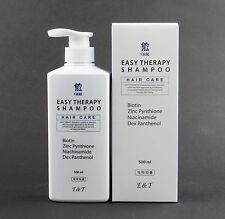 Korean  Easy&Therapy Anti Hair Loss Shampoo 500ml Brand New Free Shipping