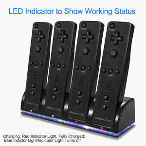 For-Nintendo-Wii-Remote-Charger-Charging-Dock-Station-Recharge-Battery-Packs