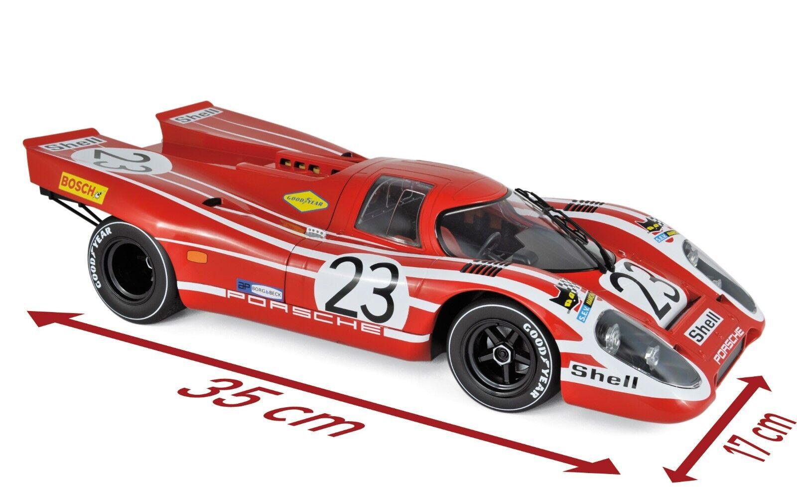 NOREV 127501 - Porsche 917 K Winner 24H France 1970 Attwood   Herrmann  1 12